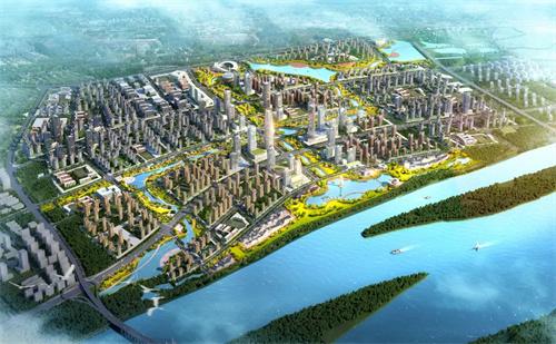 滨水新城:长沙第二个城市副中心到底长啥样?是如何规划的?